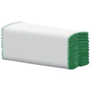 Hand Towel - C Fold - Jangro -  Green - 1 Ply - 190 Sheets