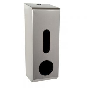Toilet  Roll Dispenser - Traditional - Stainless Steel - 3 Roll