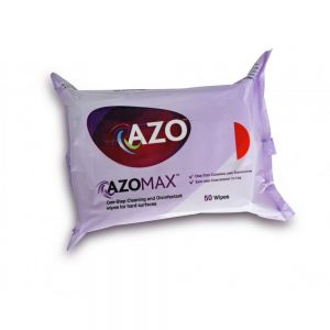 Disinfectant and Cleaning Wipes - Pouch - Azomax® - 50 Wipes