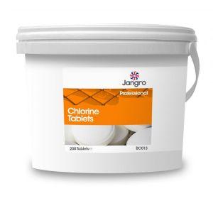 Chlorine Tablets - Jangro - Tub of 200