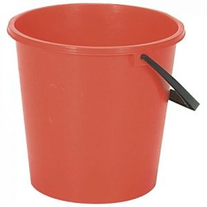 Plastic Bucket -  Round - Lucy - Red - 8L (2.1 gal)