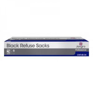 Refuse Sacks - Medium Duty - Black - 86cm (34