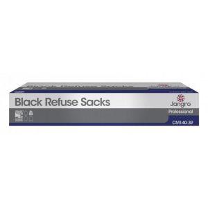Refuse Sacks - Medium Duty - Black - 99cm (39