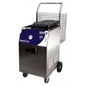 Steam Cleaner - Matrix SDV8 - Steam, Detergent & Vacuum - 8 Bar