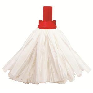 Socket Mop Head - Exel® - Big White - Blue - Red - 117g (4.1oz)