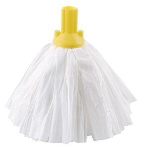 Socket Mop Head - Exel® - Big White - Blue - Yellow - 117g (4.1oz)
