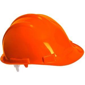 Safety Helmet - High-density Polypropylene - Expertbase - Orange