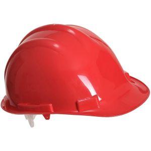 Safety Helmet - High-density Polypropylene - Expertbase - Red