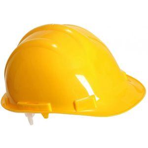 Safety Helmet - High-density Polypropylene - Expertbase - Yellow